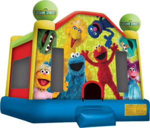 Sesame Street Bounce House Rental NJ