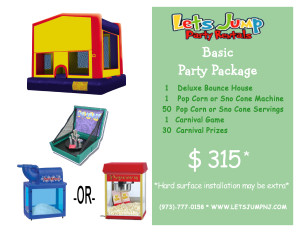 Basic Party Package 0116 Site