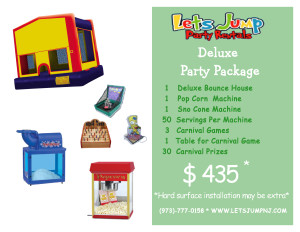 Deluxe Party Package 0116 Site